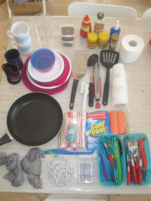 camping contents