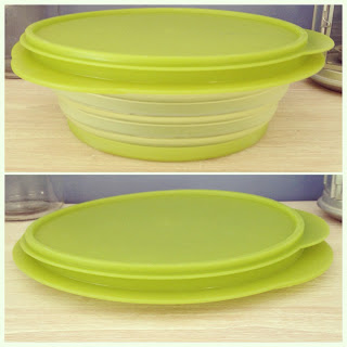 collapsible Tupperware bowls