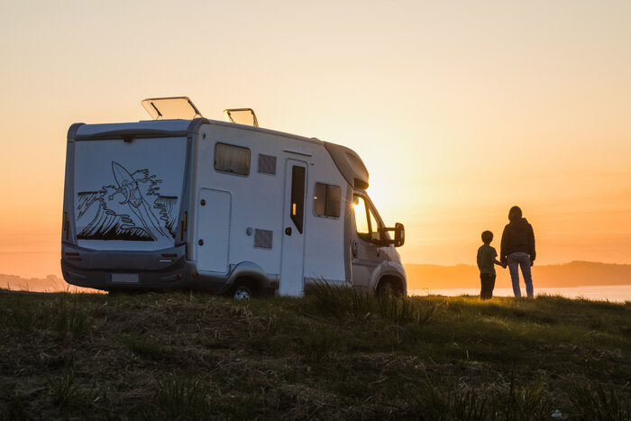 How do you use a motorhome for the first time